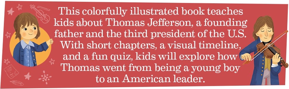 Thomas Jefferson, Thomas Jefferson biography, Thomas Jefferson biographies, Thomas Jefferson books