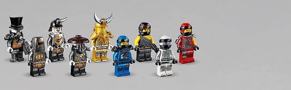 LEGO Ninjago - Pozo del Dragón, Juguete de Construcción con Dragón de la Tierra y Guerreros Ninja para Niños y Niñas de 9 a 12 Años (70655)