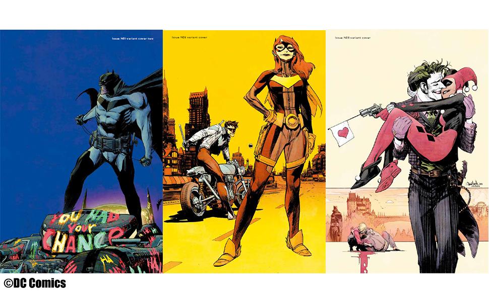 バットマン, ジョーカー, ハーレイ・クイン, アメコミ