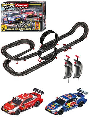 Carrera GO Analog Electric 1:43 Scale Slot Car Racing Race Track Set DTM Master Class 62480 20062480