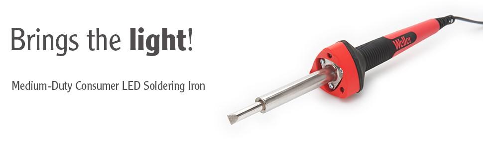 SP40NUS, Weller, LED soldering Iron, Soldering iron with LEDS, 40 watt soldering iron