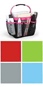 shower toiletry bag,shower caddy for college mesh,caddy,toiletries tote,attmu,organizer bag tote,
