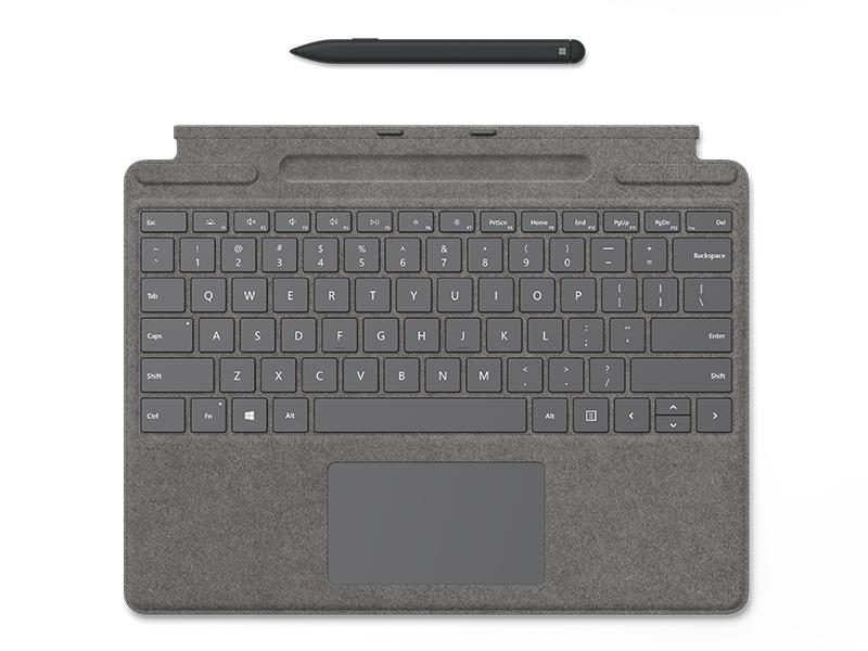 Microsoft Surface Pro X Signature Keyboard Im Bundle Computer Zubehör