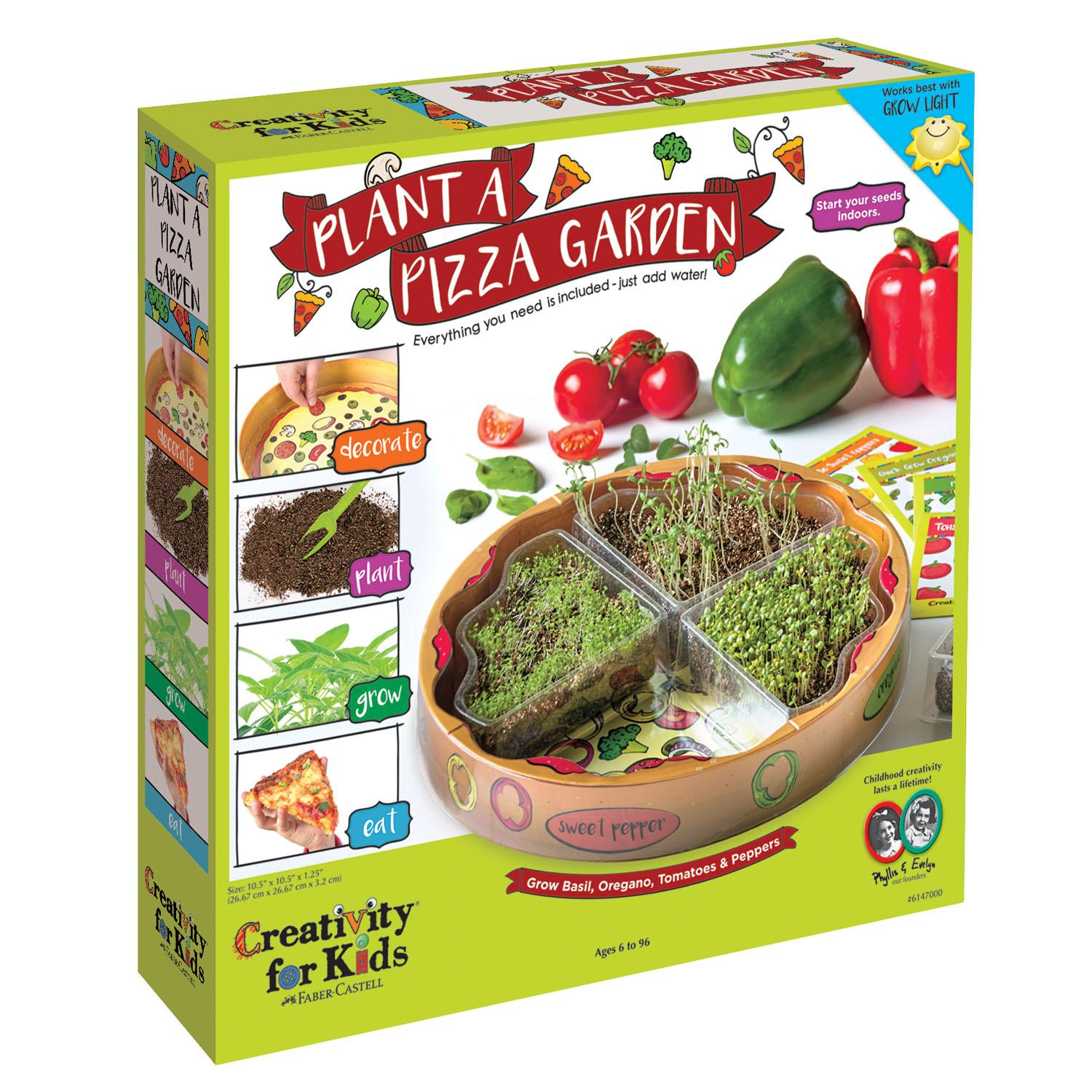Creativity for kids plant a pizza garden for Gardening kit for toddlers