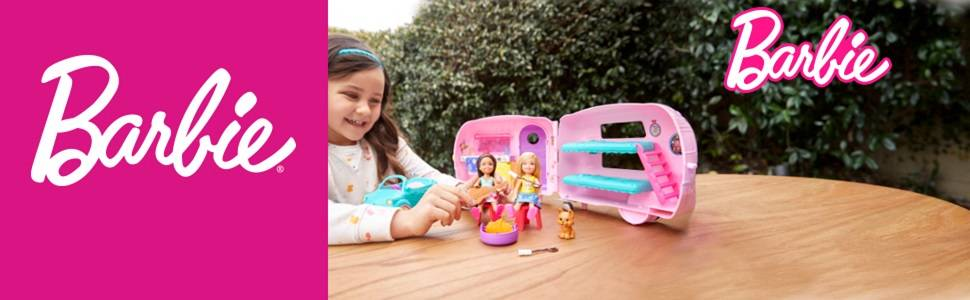 Barbie - Chelsea camper (Mattel FXG90)