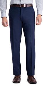 Haggar Dress pants, straight fit, mens straight dress pants, mens straight fit slacks, Haggar dress