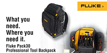 5472b70dd32 Fluke Pack30 Professional Tool Backpack  Amazon.com  Industrial ...