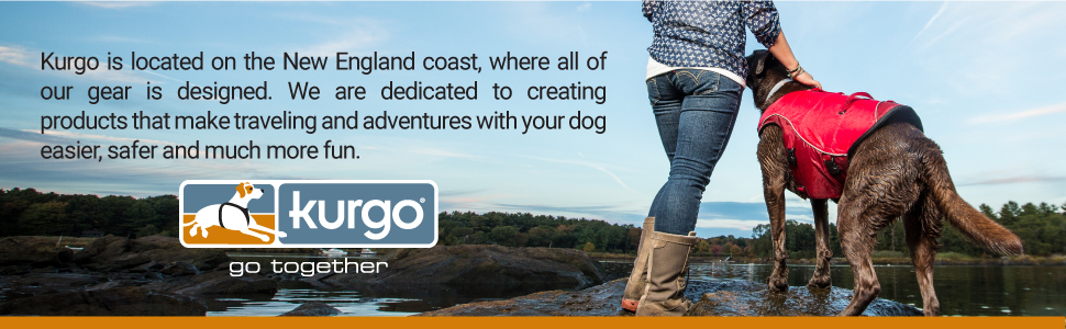 Kurgo dog backseat car bridge barrier outdoor travel adventure pet