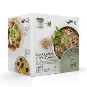 Amazon.com: Lekue 0200700V17M017 Quick Quinoa - Olla de ...