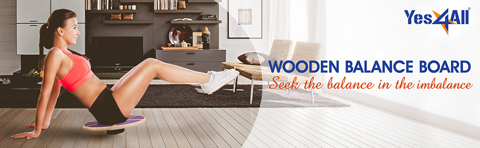 Wooden Balance Board
