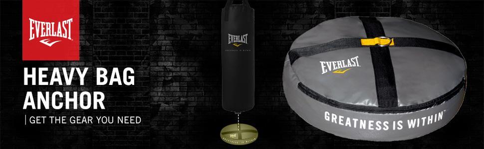 Everlast DE01 Double End Heavy Bag Anchor Grey