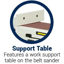 belt sander sanders woodworking wood portable sanding combination disc disk 10 inch small band hand