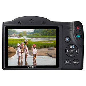 Canon PowerShot SX430 IS - Cámara compacta de 20 MP (Pantalla de 3, Zoom óptico 45x, WiFi con NFC Activo, Smart Auto, Canon Connect, Creative Filter, Intelligent IS) Negro: Canon: Amazon.es: Electrónica
