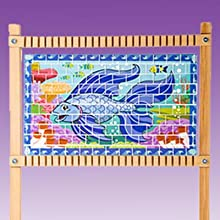 melissa and doug weaving loom instructions