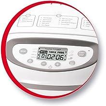 Moulinex OW610110 Home Baguette - Panificadora de 1650 W, 16 programas, sin gluten, hasta 1.5 kg, inicio programado, mantenimiento caliente, incluye ...
