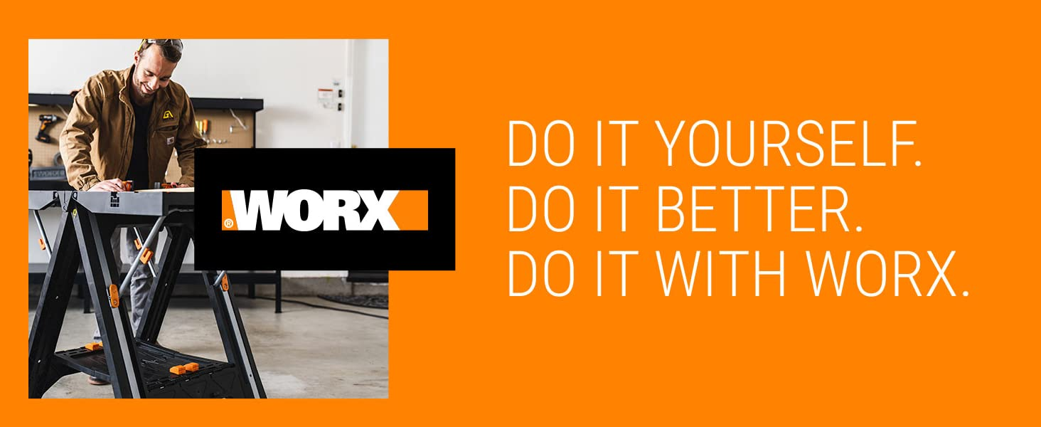 Do it yourself. do it better. do it with worx