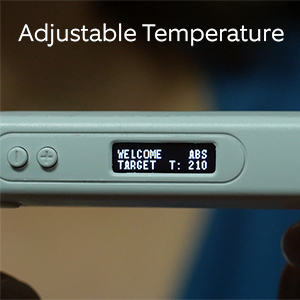 3d pen temperature display