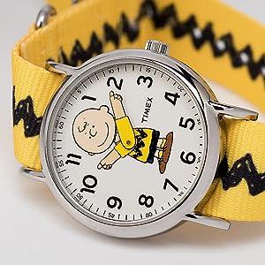Timex Weekender Peanuts Charlie Brown