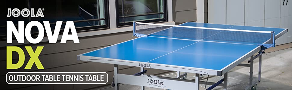 ping pong table tennis table outdoor backyard summer stiga joola nova kids family spring advantage