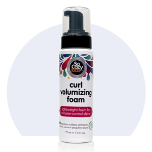 SoCozy Curl Volumizing Foam LIGHTWEIGHT + CONDITIONING: Provides natural looking control and