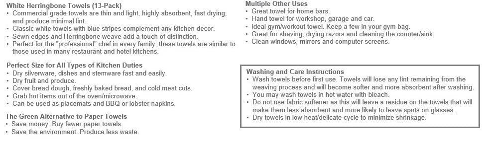 Towel Description