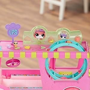 littlest pet shop; lps; little pet shop; foodtruck; set de juego;