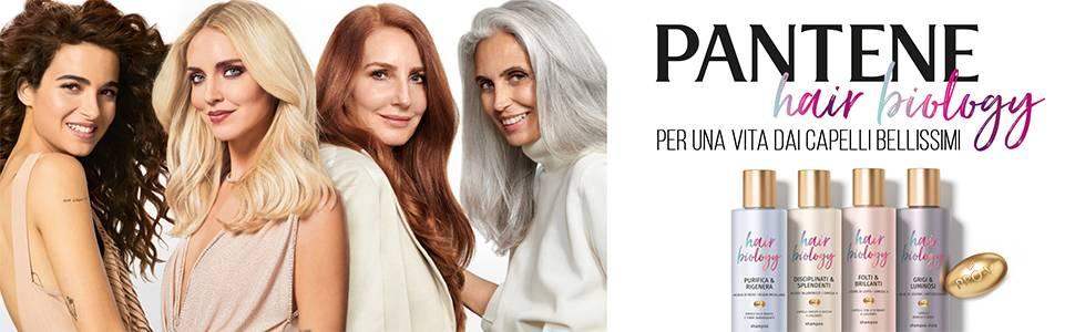 Pantene Hair Biology per una vita dai capelli bellissimi
