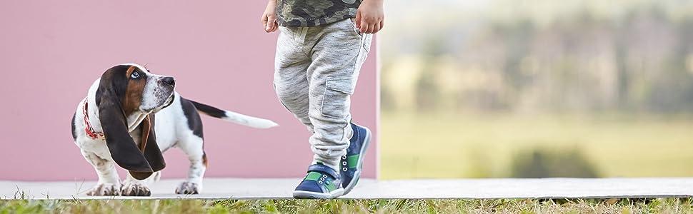 Hush Puppies Kids Paw Flex Jesse Sneaker