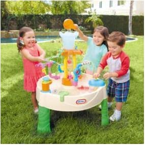 Amazon Com Little Tikes Fountain Factory Water Table