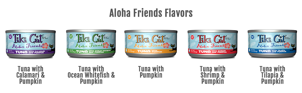 Tiki Cat Aloha Friends Canned Cat Food
