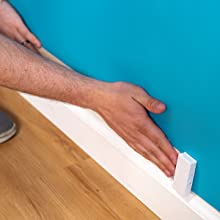 adhesive, installation, sewell, ghost, wire, lay, flat