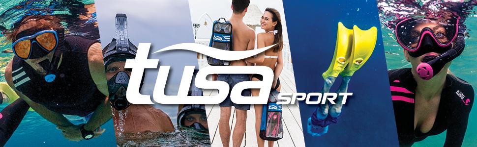 tusa sport, snorkeling, tusa, mask, snorkel, fins, scuba, vacation, comfortable, travel friendly
