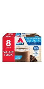 atkins dark chocolate royale shake