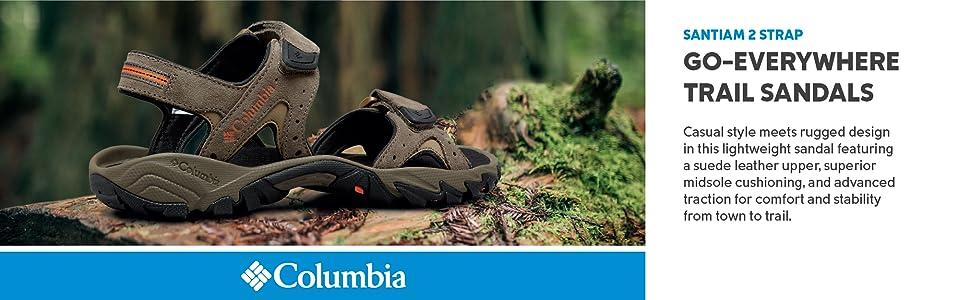 Columbia Men's Santiam 2 strap sandals