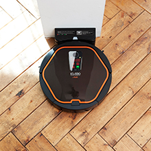 iClebo Arte Robotic Vacuum Cleaner, Easy Charge and Resume Cleaning