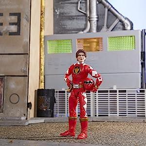 Power Rangers Lightning Collection Dino Thunder Red Ranger Figure