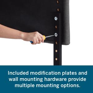 headboard wall mount mountable headboard to wall