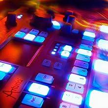 SparkLE drum machine