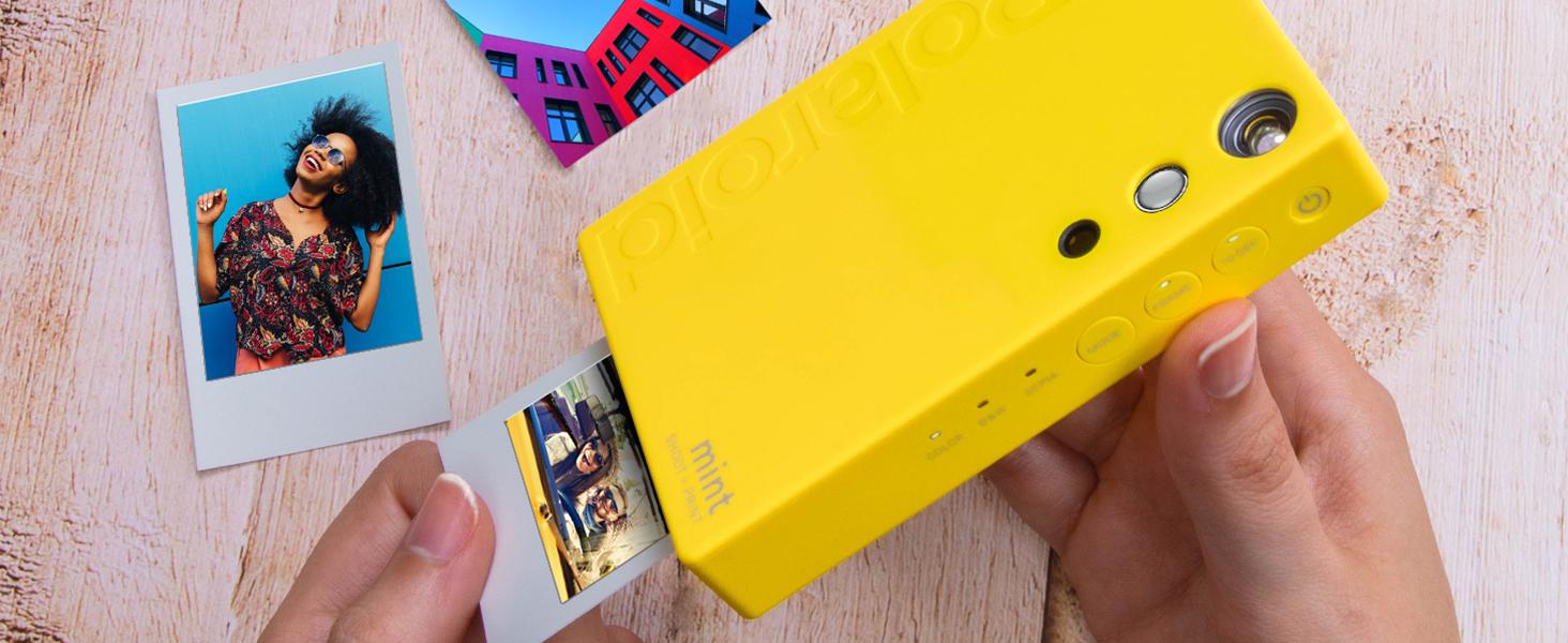 instant Polaroid photo camera