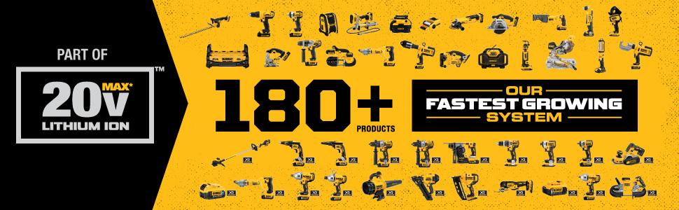 20v dewalt tool system