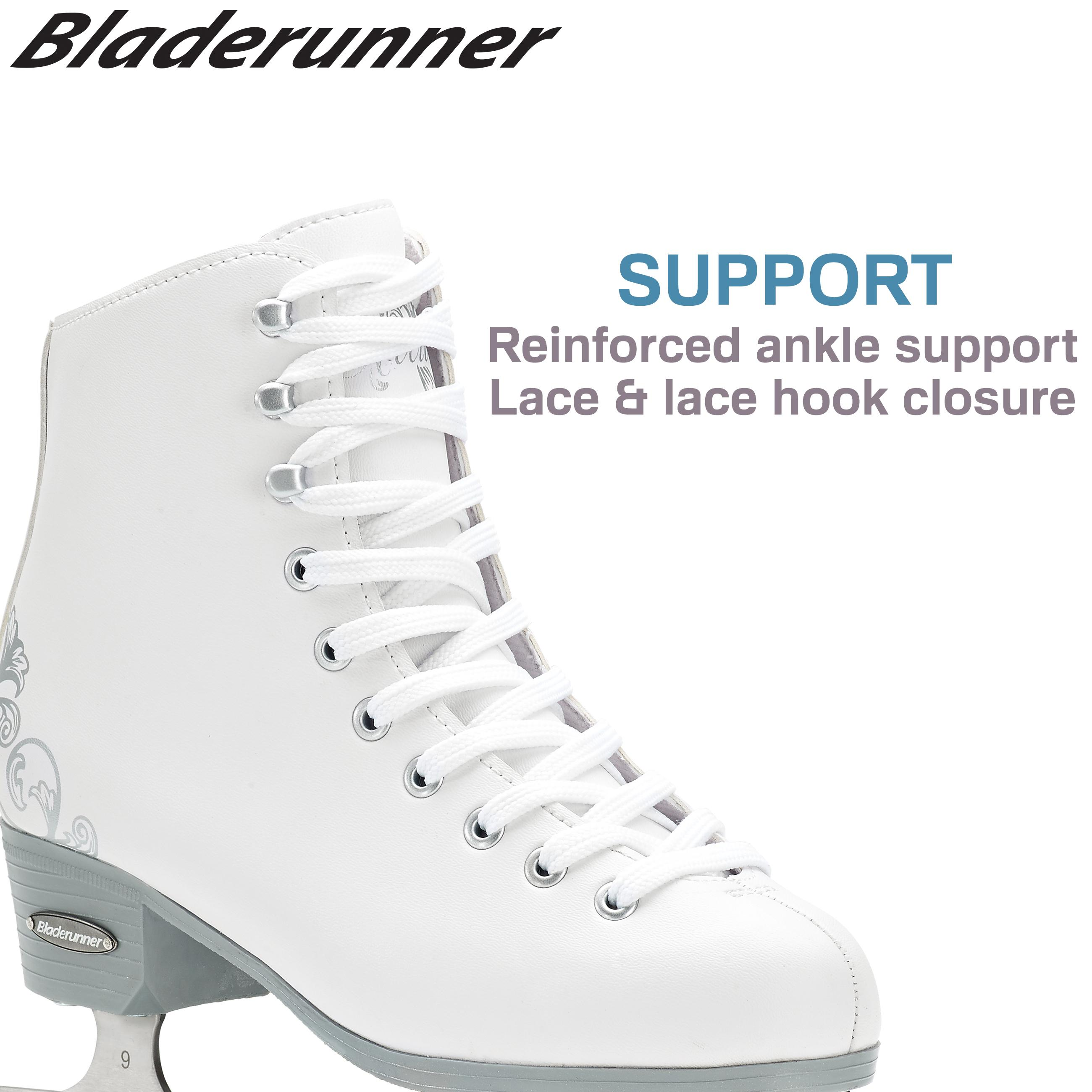 blade runner figure skates size chart bauer tuuk ls fusion runners size 7 263mm ice monster. Black Bedroom Furniture Sets. Home Design Ideas