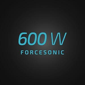 aspirator vertical rockstar 900 cu putere de 600 W.