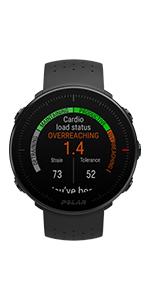 heart rate sports watch; orange vantage watch; polar fitness watch; multisport watch; waterproof;