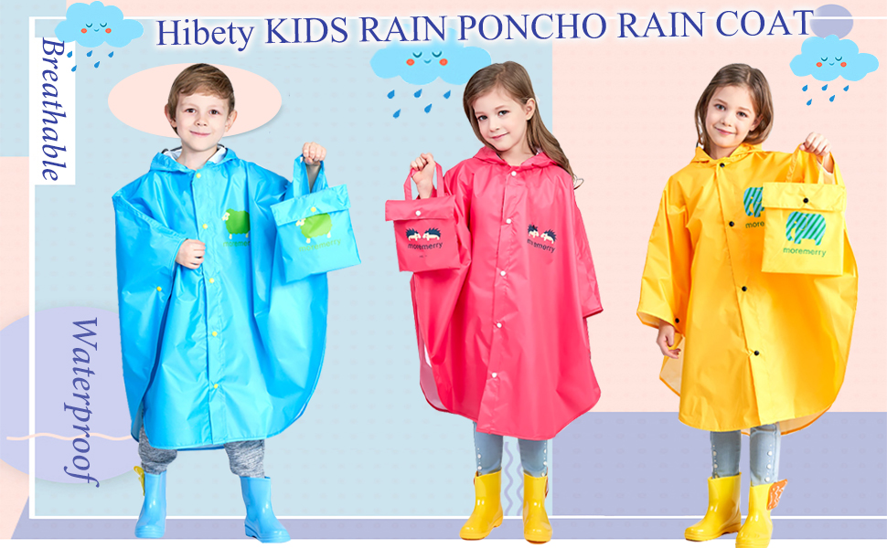 Portable with Hoods and Sleeves Rain Poncho for Adult kexin lin Waterproof Reusable Raincoat