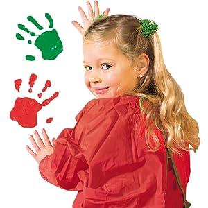 Eco Peinture au doigt girly