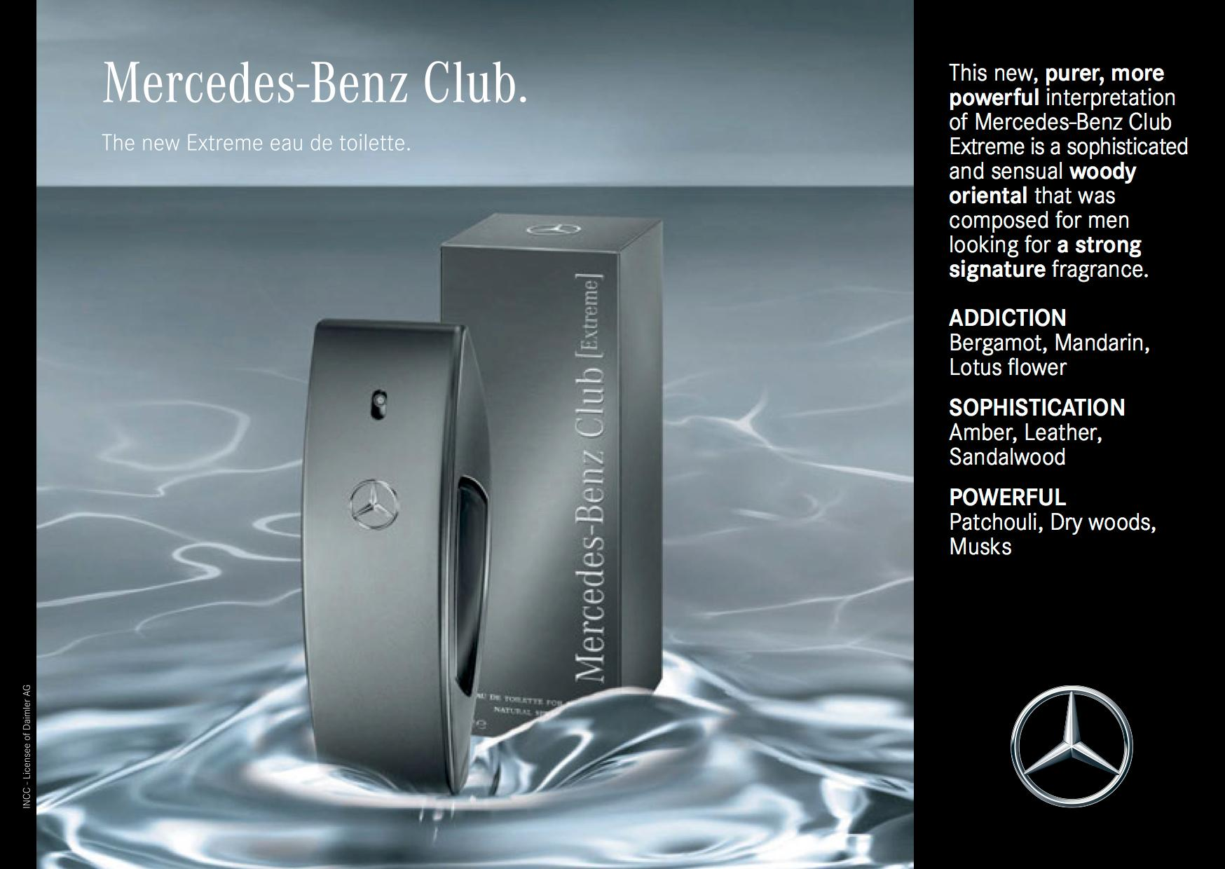 Mercedes benz club for men eau de toilette for Mercedes benz club cologne