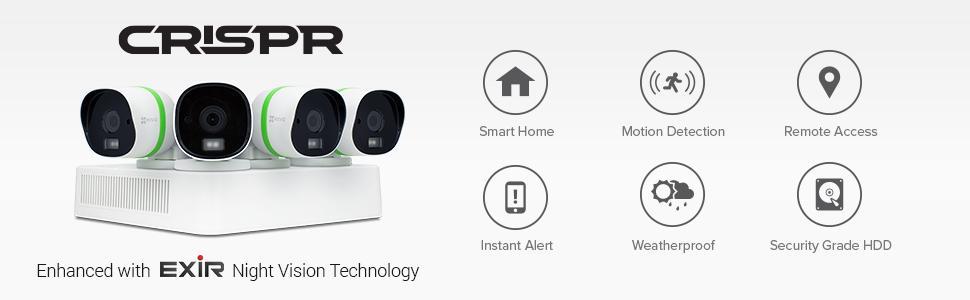 Ezviz Crispr Triple Hd 3mp Outdoor Surveillance System 8