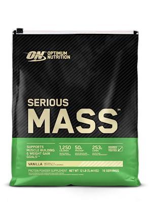 Serious Mass Vanilla Gold Standard Whey Optimum Nutrition Protein Powder