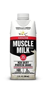 Muscle Milk Genuine Protein Shake, Vanilla Crème