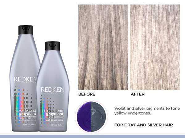 purple shampoo color treated toning blonde hair